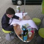 Tekenmiddag @ Abeelenpleintje met Typisch Den Bosch voor ZAYAZ