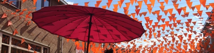 Onder de oranje WK vlaggetjes starten we onze zomertoer @ Barten-Zuid